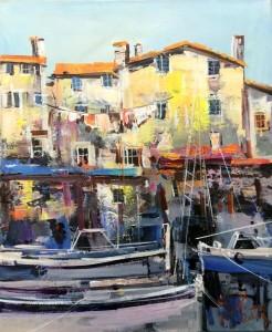 Ivan Stojanovic, Croatian Coast, Oil on canvas, 60x50cm