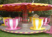 TEA CUP LIGHTS CAROUSEL*